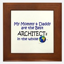 Best Architects In The World Framed Tile