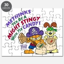 Garfield Stingy Candy Puzzle