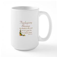 THANKSGIVING BLESSINGS -CHRONICLES 16:3 Mug