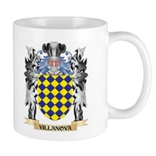 Villanova Coat of Arms - Family Crest Mugs