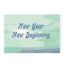 Jewish New Year New Beginning Postcards (Package o