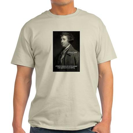 Famous Quotes: Ash Grey T-Shirt
