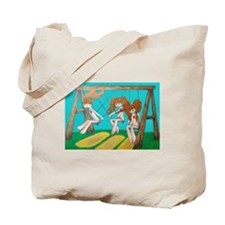 Funny Angry orange Tote Bag