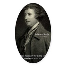 Famous Quotes: Oval Decal