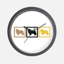 Shetland Sheepdog Wall Clock
