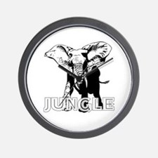 (Charged Jungle) Wall Clock
