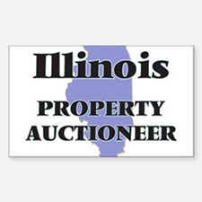 Illinois Property Auctioneer Decal