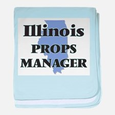 Illinois Props Manager baby blanket