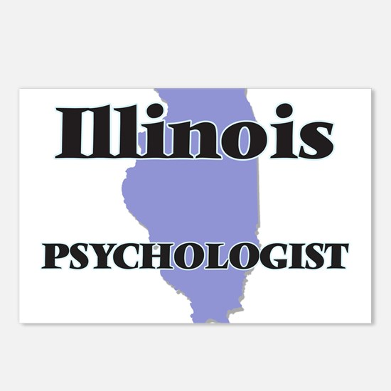 Illinois Psychologist Postcards (Package of 8)