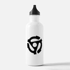 Cute 45 rpm adapter Water Bottle