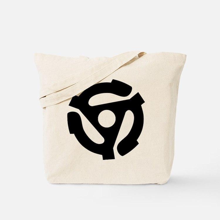 Cute 45rpm Tote Bag