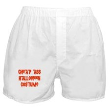 Cheap Ass Halloween Costume Boxer Shorts