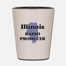 Illinois Radio Producer Shot Glass