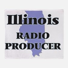 Illinois Radio Producer Throw Blanket