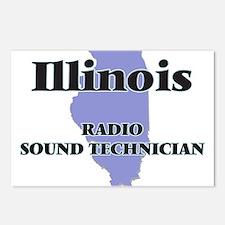 Illinois Radio Sound Tech Postcards (Package of 8)