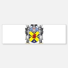 Wade Coat of Arms - Family Crest Bumper Bumper Bumper Sticker