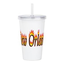 New Orleans Flame Acrylic Double-wall Tumbler