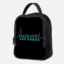 Digital Cityscape: Las Vegas, N Neoprene Lunch Bag