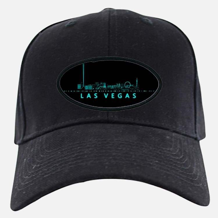 Digital Cityscape: Las Vegas, Nevada Baseball Hat