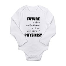 Cool Physicists Long Sleeve Infant Bodysuit