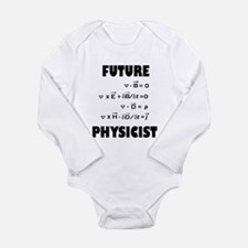 Funny Science baby Long Sleeve Infant Bodysuit