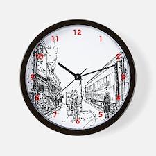 RR Wall Clock
