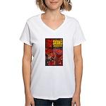 Satan's Daughter Women's V-Neck T-Shirt