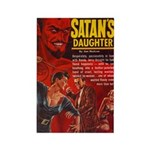 Satan's Daughter Rectangle Magnet (10 pack)