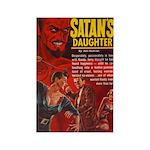 Satan's Daughter Rectangle Magnet