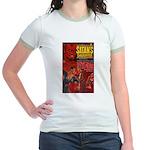 Satan's Daughter Jr. Ringer T-Shirt
