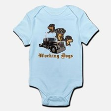 Working Dogs Infant Bodysuit