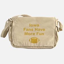 Iowa Fans Have More Fun Messenger Bag