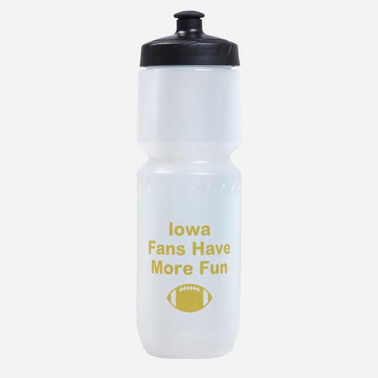 Iowa Fans Have More Fun Sports Bottle