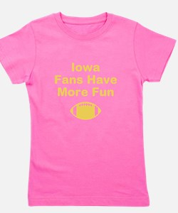 Iowa Fans Have More Fun Girl's Tee