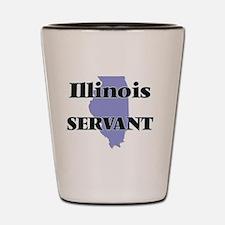 Illinois Servant Shot Glass