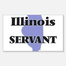Illinois Servant Decal