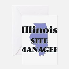Illinois Site Manager Greeting Cards