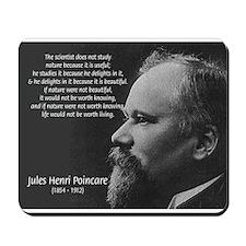Jules Henri Poincare Science  Mousepad