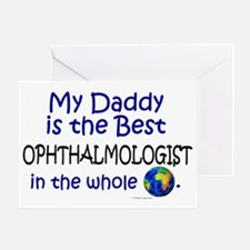 Best Ophthalmologist In The World (Daddy) Greeting