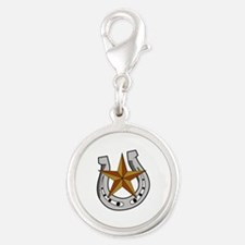 HORSE SHOE AND STAR Charms