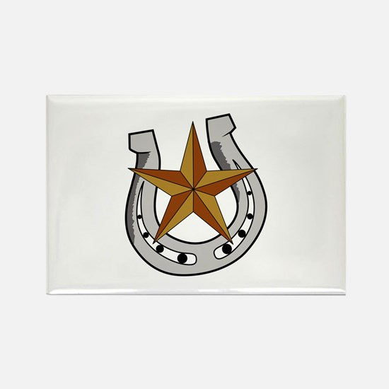 HORSE SHOE AND STAR Magnets