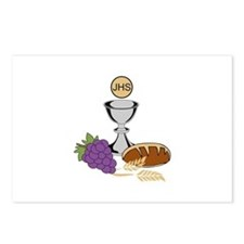 COMMUNION Postcards (Package of 8)