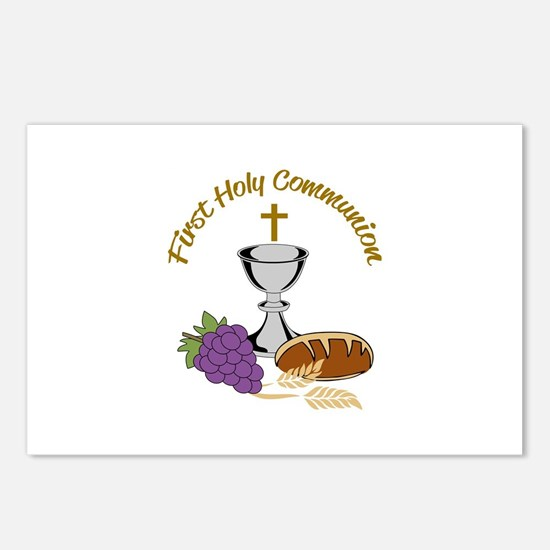 FIRST HOLY COMMUNION Postcards (Package of 8)