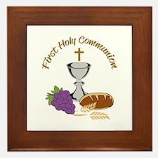 FIRST HOLY COMMUNION Framed Tile