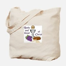BODY AND BLOOD OF CHRIST Tote Bag