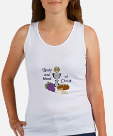 BODY AND BLOOD OF CHRIST Tank Top