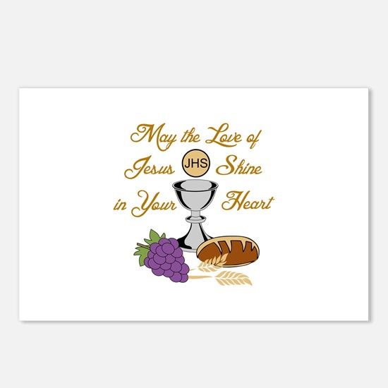 THE LOVE OF JESUS Postcards (Package of 8)