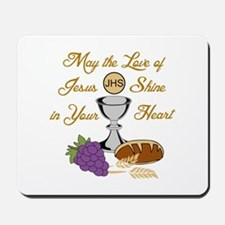 THE LOVE OF JESUS Mousepad