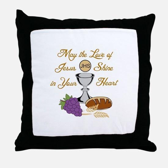 THE LOVE OF JESUS Throw Pillow
