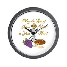 THE LOVE OF JESUS Wall Clock